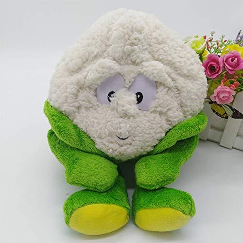 Knoblauch, Güte Gruppe Obst Und Gemüse Erdbeere Pilz Weichem Plüsch Spielzeug 1 stücke Blumenkohl
