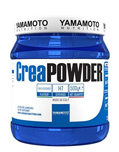 Yamamoto nutrition crea powder creapure® quality integratore alimentare a base di creatina monoidrato micronizzata gusto neutro 500 g