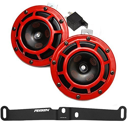 hella-supertone-12v-high-low-tone-twin-horn-kit-with-perrin-bracket-for-2015-subaru-wrx-sti-red-by-h