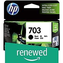 (Renewed) HP Deskjet 703 Ink Cartridge (Black)