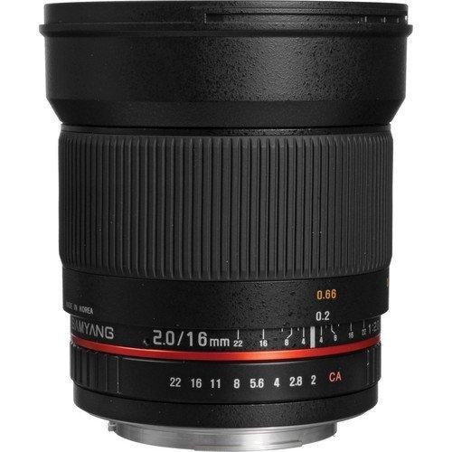 Samyang 16mm F2.0 Objektiv Canon EF