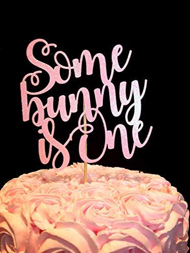 Andrea1Oliver Einige Bunny ist EIN Cake Topper Bunny EIN Cake Topper 1. Geburtstag Bunny Dekorationen Bunny Dekorationen 1. Geburtstag Thema Ideen