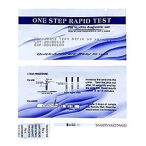 10 x David THC Drogentest Streifen 25ng/ml Cannabis Marihuana drug test