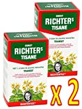Lot de 2 boîtes de Tisane infusion Ernst Richter 40g - 100% à base de...
