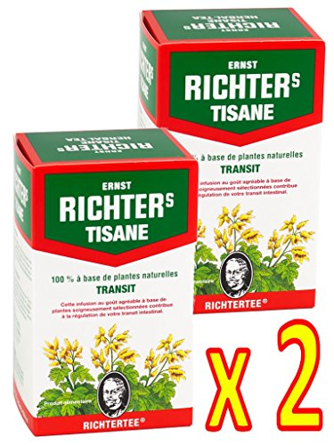 Lot de 2 Tisanes Ernst Richter's