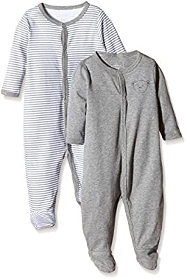 NAME IT Nitnightsuit W/F Nb Noos - Pijama Bebé-Niñas