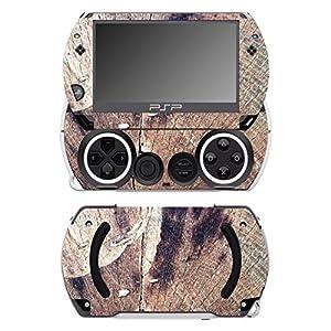 Disagu SF-14232_1056 Design Folie für Sony PSP Go – Motiv Holz No10 transparent