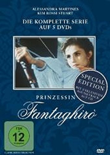Prinzessin Fantaghiro Superbox, Buchhandelsedition * 5 DVDs + Audio-CD