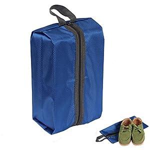 Travel Sacs à chaussures, YOBOKO Valise à chaussures ranger avec Poignée à Transport Idéal pour Sport Voyage Ski Golf Femme et Homme