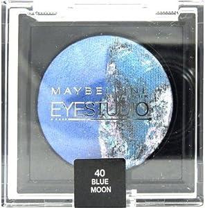 Maybelline EyeStudio Color Cosmos Marbleised Baked Duo Eyeshadow 40 Blue Moon