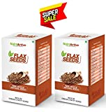 #5: NutroActive Flax Seeds 270 gm Natural, Whole, Raw Alsi Seeds(Pack of 2)