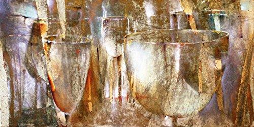 Spirituosen-kunst-plakat (Artland Wandbilder selbstklebend aus Vliesstoff oder Vinyl-Folie Annette Schmucker Lichtspiel Ernährung & Genuss Getränke Spirituosen Malerei Natur)