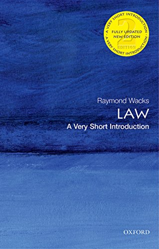 Law: A Very Short Introduction (Very Short Introductions) (English Edition) por Raymond Wacks