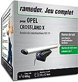 Rameder Pack Barres de Toit Pick-Up pour Opel Crossland X (111286-37757-1-FR)