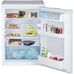 Beko TSE 1423Table Réfrigérateur/A + +/92kWh/an/kühlen: 130L/Blanc/encastrable avec mesure de Plan de travail amovible/bol légumes grand