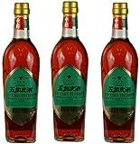 Golden Star - Chinesische Kräuter-Spirituose Wu Chia Pi Chiew - 3er Pack (3x500ml) - 54%Vol