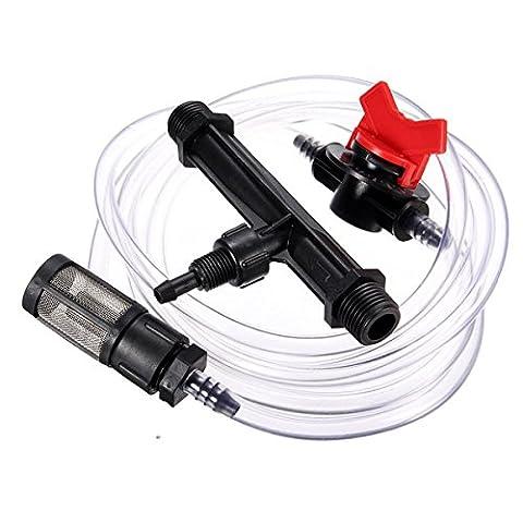 Bluelover 3/4 De Pouce D'Irrigation Engrais Injecteurs Appareil Filtre Kit De Tube De Venturi
