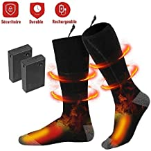 Calcetines Térmicos - Invierno Eléctrico Calcetines Calientes Climatizada para Hombre y Mujer Pies Crónicamente Fríos Calentador