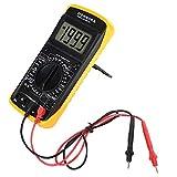 Wandisy Multimetro Digitale , DT-9205A Multimetro Digitale Portatile LCD AC/DC Volt Amp Ohm Tester di capacità Hz