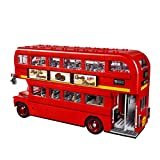 TGSEA Lepin 21045 1711 Teile Original Technic Serie The London Bus Set Bausteine Bausteine Kinder Spielzeug Modell Geschenke Legoings 10258