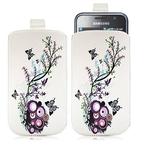 Housse coque étui pochette pour Samsung Galaxy S i9000 avec motif HF01