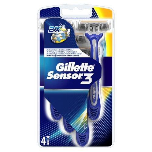 gillette-sensor3-pack-de-4-rasoirs-jetables-pour-homme