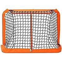 LIULU GOL de Hockey Hockey Formación Plegable pequeño Objetivo Adecuado for la interacción Entre Padres e Hijos de la Familia Juguetes Interior (Color : Orange, tamaño : 90 * 60 * 60cm)