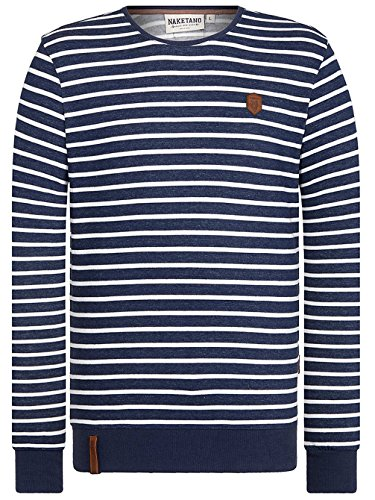Herren Sweater Naketano She Wants Me Sweater stripe hype
