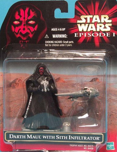Star Wars Episode 1 Darth Maul With Mini Sith Infiltrator [Toy] (japan import)