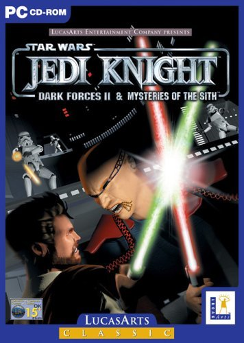 Star Wars: Jedi Knight - Dark Forces II & The Mysteries of the Sith (PC CD) by LucasArts