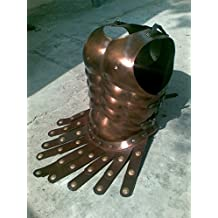 Medieval Roman Greek Muscle Body Armor Cuirass Copper Finish by NAUTICALMART