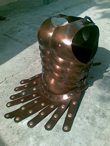 Medieval Roman Greek Muscle Body Armor Cuirass Copper Finish by (Kostüme Armor Body)