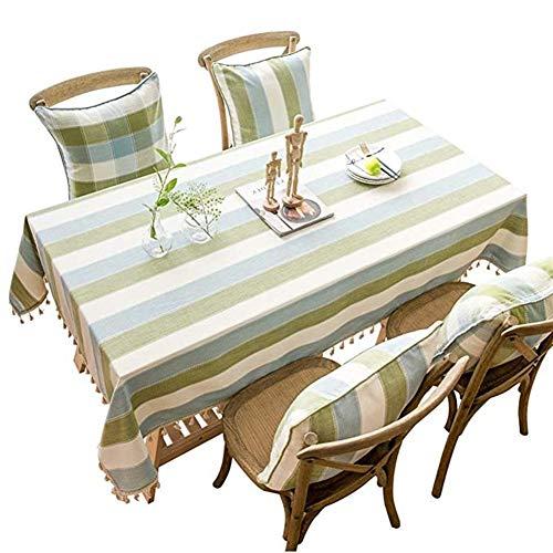 Gjrff decorazioni rettangolare vintage tovaglia pranzo cucina partito 90 * 90cm - 140 * 240 centimetri lavabile cena picnic tovaglia (size : 90x90cm)