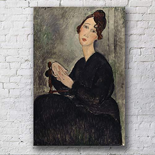 RTCKF Inkjet leinwand malerei Hotel Wohnung Club leinwand malerei Charakter dekorative malerei ohne Rahmen G1 30 cm * 40 cm (Zigeuner-wohnungen)