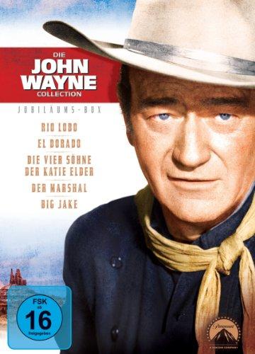 Bild von Die John Wayne Collection - Jubiläums-Box [5 DVDs]