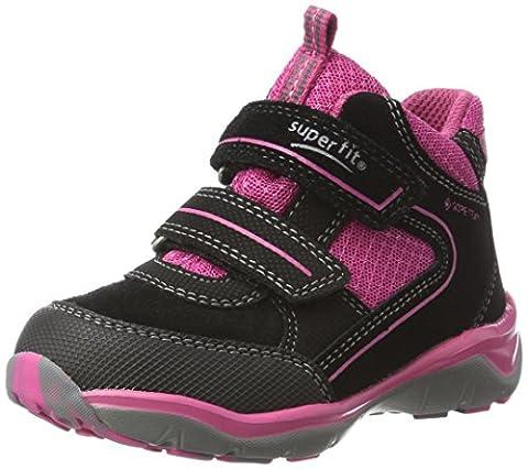 Superfit Mädchen SPORT5 Hohe Sneaker, Schwarz (Schwarz Multi), 30 EU