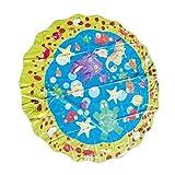 Fenteer Aufblasbarer Water Splash Pad Spielmatte Sommer Wasser Spielzeug für Kinder Baby - 100 cm (39 Zoll) Durchmesser