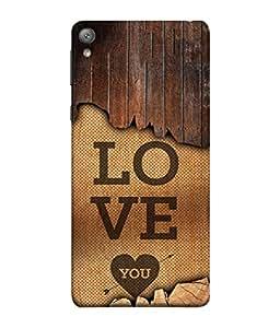 Sony Xperia E5 Back Cover Love You Design From FUSON