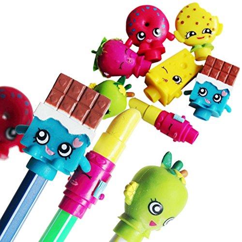Moose Toys - Shopkins - pack 2 - figurines Shopkins embouts pour stylo crayon feutre ...