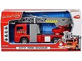 Dickie toys - 203715001014 - camion de pompier lumière et son 30 cm