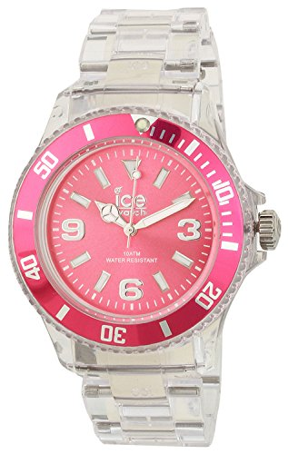 ice-watch-unisex-quartz-watch-with-pink-dial-analogue-display-and-transparent-plastic-or-pu-bracelet