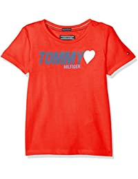 Tommy Hilfiger AME Tommy Heart Tee S/S, Camiseta Para Bebés