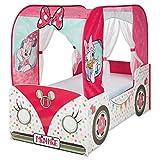 TW24 Luxus Kinderbett Minnie Mouse 140cmx70cm Einzelbett Bett