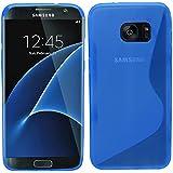 Samrick S Wave Coque de protection en hydrogel pour Samsung Galaxy S7bord–bleu