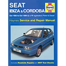 Seat Ibiza and Cordoba (1993-99) Service and Repair Manual (Haynes Service