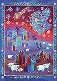 """Coppenrath Calendrier de l'Avent religieux et traditionnel """"La veille des bergers"""" avec histoire de la Nativité"""
