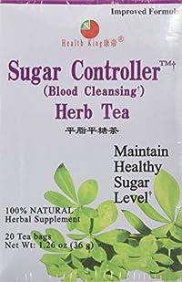 Tea Sugar Controller Herb 20 Bags