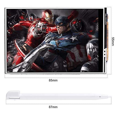 Kuman Display Touch Screen TFT LCD Touch Screen da 3,5 Pollici con Penna Touch per Raspberry Pi 3B + / 3B, Pi 2B, Pi Zero W, Pi A/A + / B/B + SC106