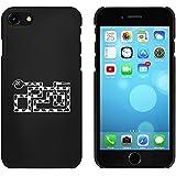 Noir 'Serpent Angulaire' étui / housse pour iPhone 7 (MC00062381)