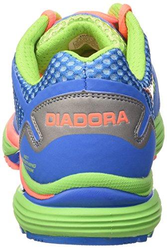 Diadora - N-6100-2, - Uomo Blu Chiaro/Verde Flash